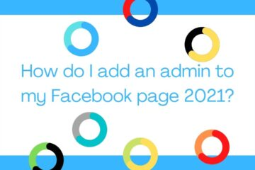 How do I add an admin to my Facebook page 2021?