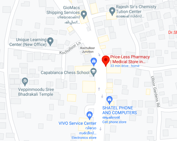 List your pharmacy medical store on google maps.